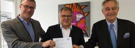 un partenariat a été signé entre le Groupe IGS, le Réseau C&D et l'Apec