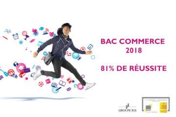 Taux de réussite du Bac Professionnel Commerce en alternance du CIEFA Lyon