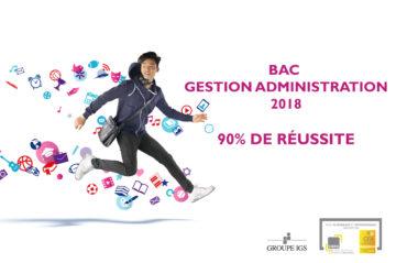 Taux de réussite du Bac Professionnel gestion administration en alternance du CIEFA Lyon