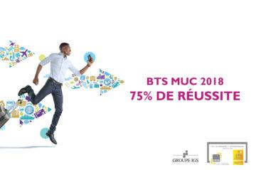 Taux de réussite du BTS Management des Unités Commerciales - MUC en alternance du CIEFA Lyon