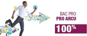 Taux de réussite du Bac professionnel Accueil, Relations Clients et Usagers (ARCU) en alternance du CIEFA Lyon